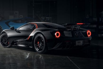 What makes this Ford GT Studio Collection version so exclusive?