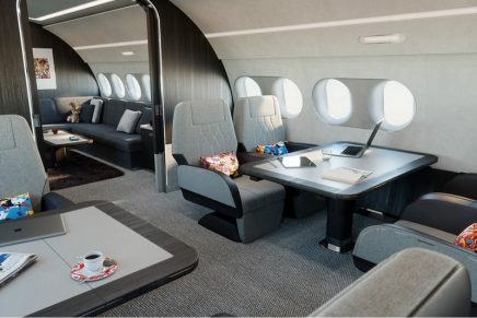 ACJ TwoTwenty Xtra Large Bizjet is the quietest and most eco-friendly aircraft in its category
