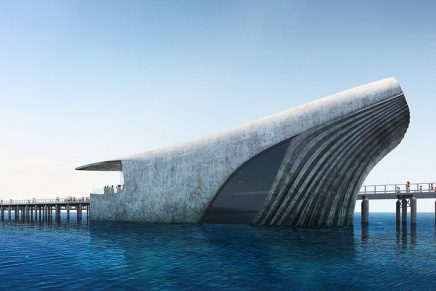 Amazing whale-shaped marine observatory will offer stunning underwater views
