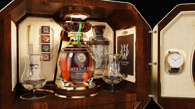 The Emerald Isle Collection by @The Craft Irish Whiskey Co. x @Fabergé