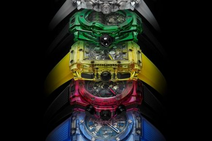 For Hublot, it seems there are no limits when it comes to colour and horological innovation