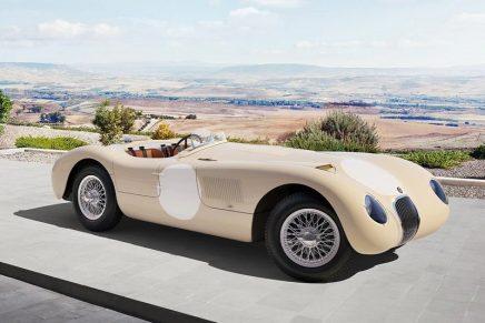 On its 70th anniversary, Jaguar restarts C-type, Jaguar's first icon of Le Mans