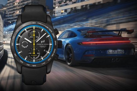 Porsche 911 GT3 is sold with matching high-end wristwatch customized by the driver