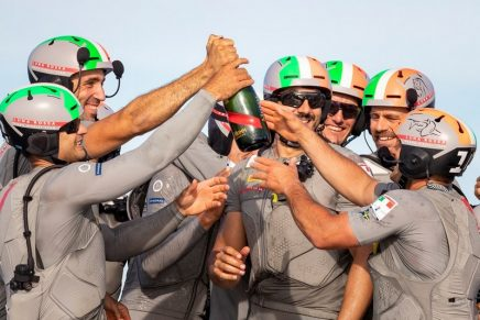 Luna Rossa Prada Pirelli sailed to victory in the 2021 Prada Cup Final