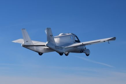Flying cars are getting closer to takeoff: Terrafugia Transition obtained FAA certificate