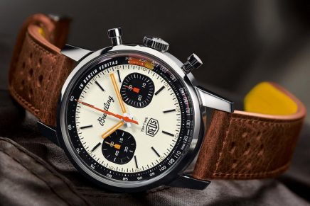 To all nomad spirits and petrol heads out there: Breitling Top Time Deus Limited Edition