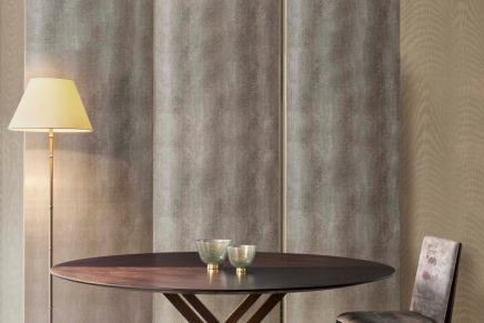 Excelsior, Turandot, Bayadère: Great ballets and operas inspire new Armani Casa innovative wallpapers
