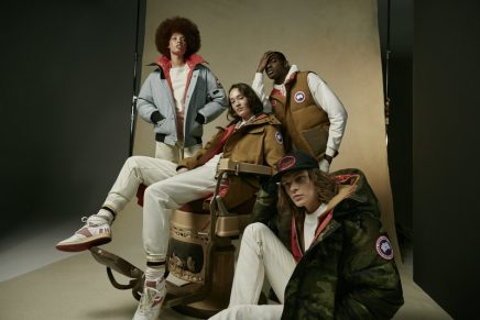 NBA and luxury lifestyle brand team up for the All-Star Game and unisex outerwear capsule