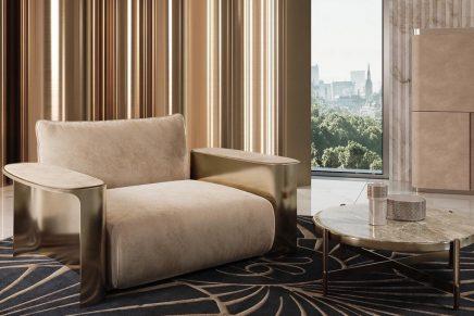 Elie Saab's vision of luxury living translated into fine furniture