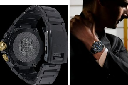 Latest Casio Luxury Models Pay Homage to the Spirit of Victory Japanese Samurai Warriors
