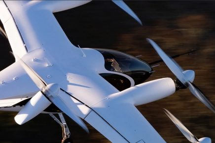 Joby Aviation released first footage of its revolutionary all-electric VTOL aircraft in flight