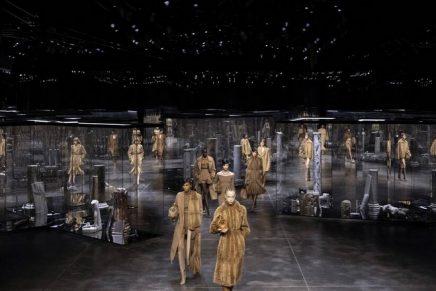 Fendi O'Lock: Kim Jones presents first ready-to-wear collection for Fendi