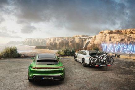 Porsche Taycan Cross Turismo: High-tech appearance for a high-tech vehicle