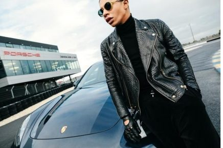 Porsche is working together with one of the most famous faces in the fashion scene