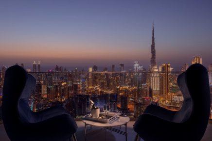 The highly anticipated SLS Dubai is one of Dubai's tallest buildings