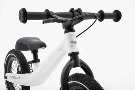 Bentley inspires a new  luxury children's balance bike