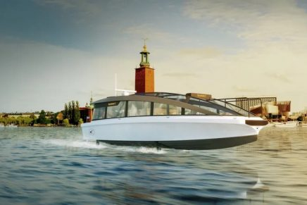 The world's fastest all-electric ship will be shuttling passengers without wakes, noise and CO2 emissions