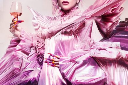 Lady Gaga invites you to enter her champagne Queendom
