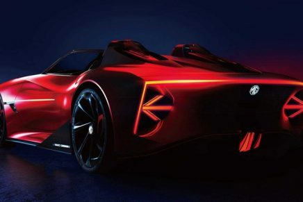 MG unveils Cyberster Concept with a stunning convertible recalling classic MG roadsters