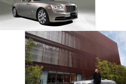 One-of-a-kind Rolls-Royce x Kengo Kuma creation bridges luxury automotive and architectural worlds