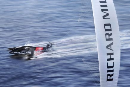 Swiss Boat Builder And Luxury Watchmaker Are Chasing the World Sailing Speed Record