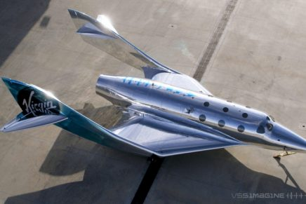 Space travel: Virgin Galactic's new VSS Imagine will reflect whatever environment it is passing through