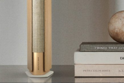 The slimmest speaker possible that could still deliver full range, ultra-wide sound