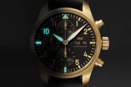 Mr. Porter's first decade in men's style marked with limited edition IWC Pilot Chronograph