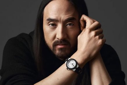 The 42-hour power reserve of the new Bvlgari Aluminium Steve Aoki will enable clubbers to dance until dawn