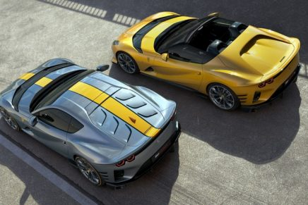 Ferrari's latest speed machine comes as either a coupe or a targa-top version