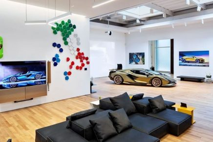 Lamborghini's newly minted private space and NYC flagship offers access to never-before-seen vehicles and bespoke exhibitions