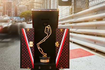 Formula 1 Grand Prix de Monaco trophy can now safely travel in first class