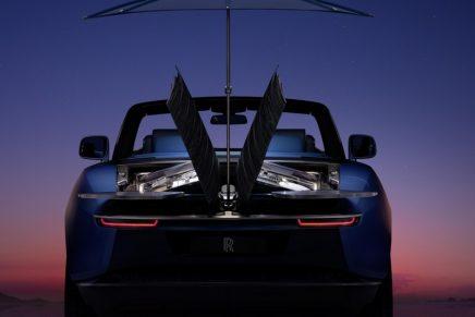 Rolls-Royce introduces utterly unique coachbuilt Boat Tail commission