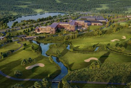 Omni PGA Frisco Resort is the largest golf resort currently in development in the United States