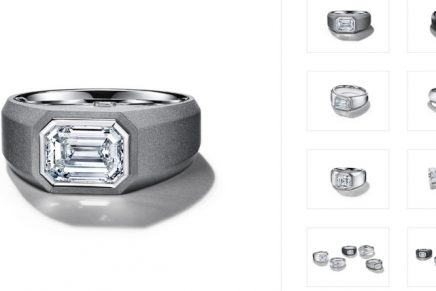 Tiffany starts a new marital tradition with The Charles Tiffany Setting – Diamond Engagement Rings for Men