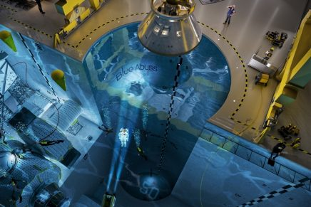 The largest and deepest indoor pool in the world will offer hyperbaric chambers, microgravity suites and more