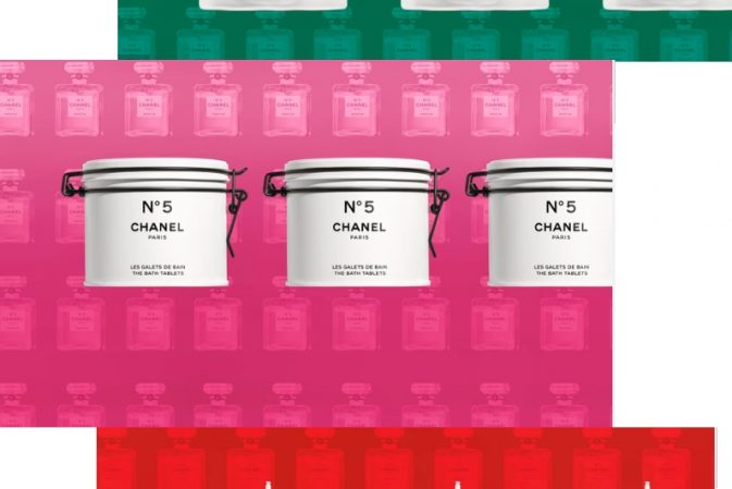 Chanel announces new N°5 packaging and new makeup and skincare for men