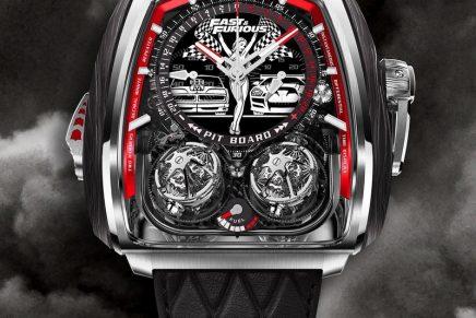 Fast & Furious film saga celebrated with a uniquely complex Jacob & Co timepiece