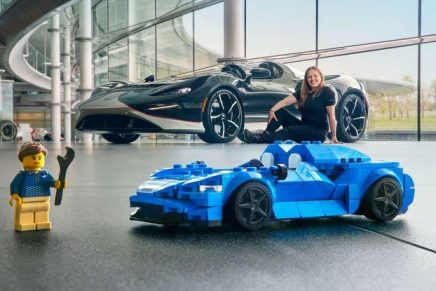 Lego unveils stunning replica of one of the world's most exclusive open-top speedsters