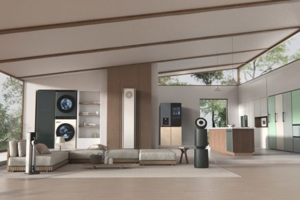 LG Objet Collection is blurring the line between state-of-the-art home appliances and designer furnishings