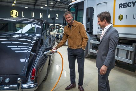 David Beckham – investor in leading electrification company for classic cars