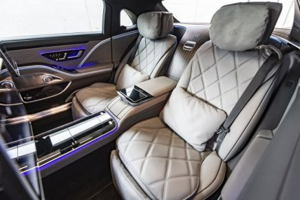 Particularly suitable for chauffeured driving: The new Mercedes-Maybach S-Class