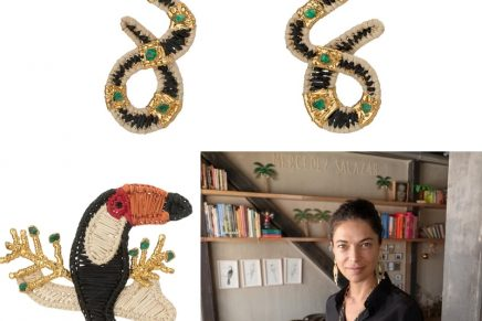 Responsibly sourced: Mercedes Salazar's ultra-spirited capsule for Muzo Emerald Colombia