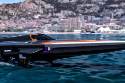 RaceBird electric racing powerboat promises an exhilarating maximum speed of 50 knots