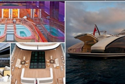 Inside the Biggest Yacht Ever Sold