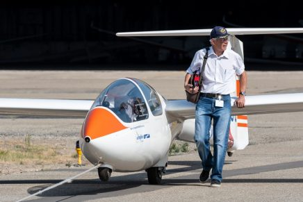 The Euroglider Autonomous Electric Glider is not Waiting For Good Weather