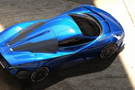 Fulminea hypercar, the fastest technology lab on wheels, to debut at Salon Privé