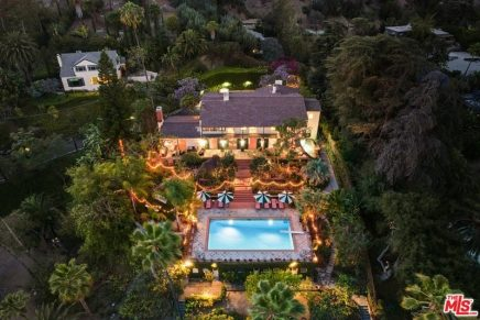 Los Angeles compound of Director Taylor Hackford and Actor Helen Mirren listed for $18.5 Million