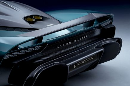 Valhalla concept evolved into a truly driver focused, production reality supercar