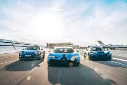 What is Bugatti Rimac and what is Porsche doing in this new automotive trio